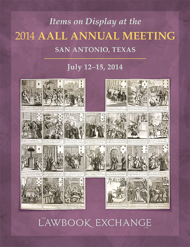 Items on Display at the 2014 AALL Annual Meeting San Antonio, Texas