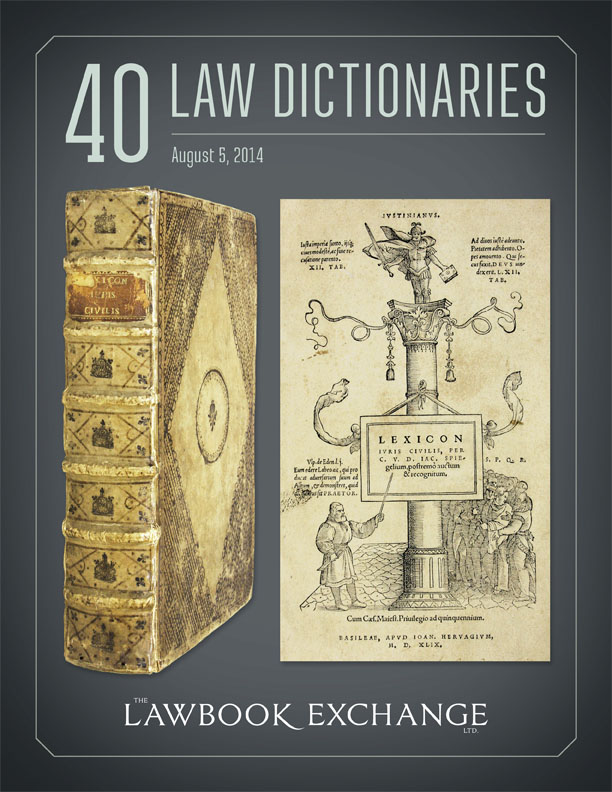 40 Law Dictionaries