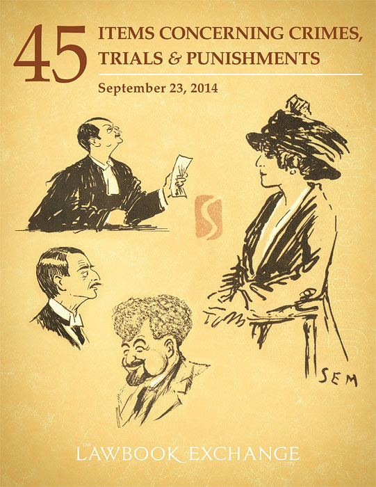 45 Items Concerning Crimes, Trials and Punishments