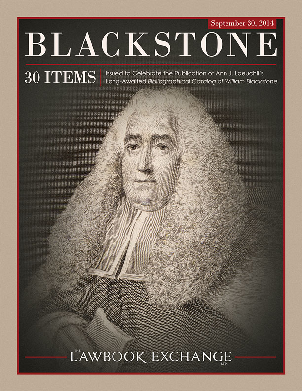 Sir William Blackstone: 30 Items