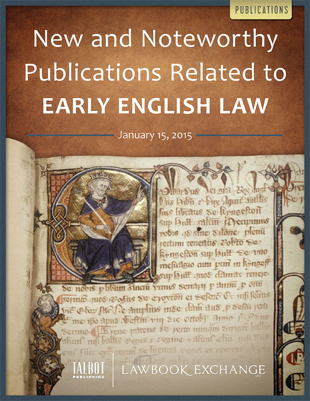 early english law He is author of land, law, and lordship in anglo-norman england (oxford university press, 1994) and the formation of the.