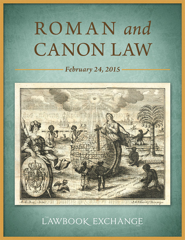 Roman and Canon Law
