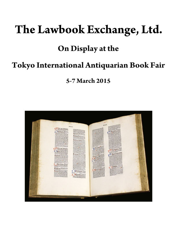 2015 Tokyo International Antiquarian Book Fair