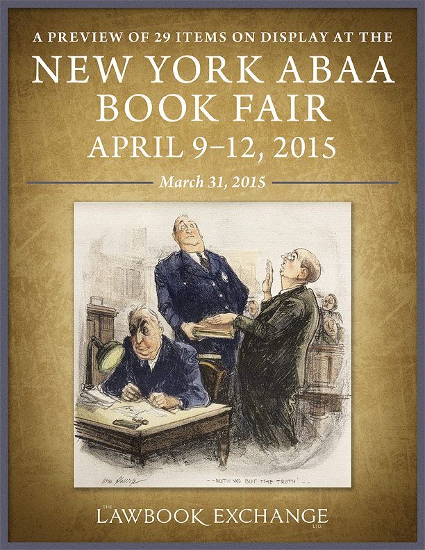 A Preview of 29 Items on Display at the April 2015 New York ABAA Book Fair
