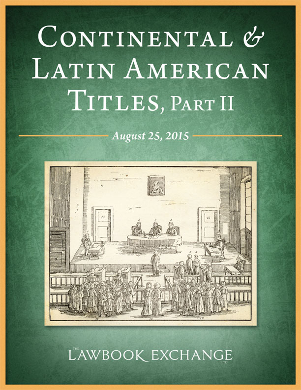 Continental and Latin American Titles, Part II