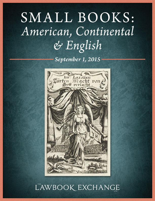 Small Books: American, Continental and English