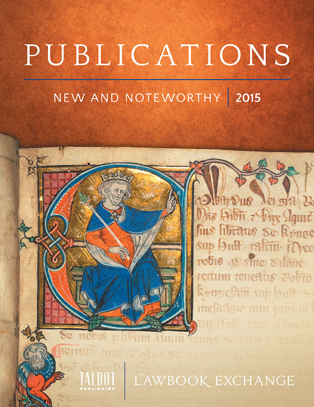 Publications: New and Noteworthy, 2015
