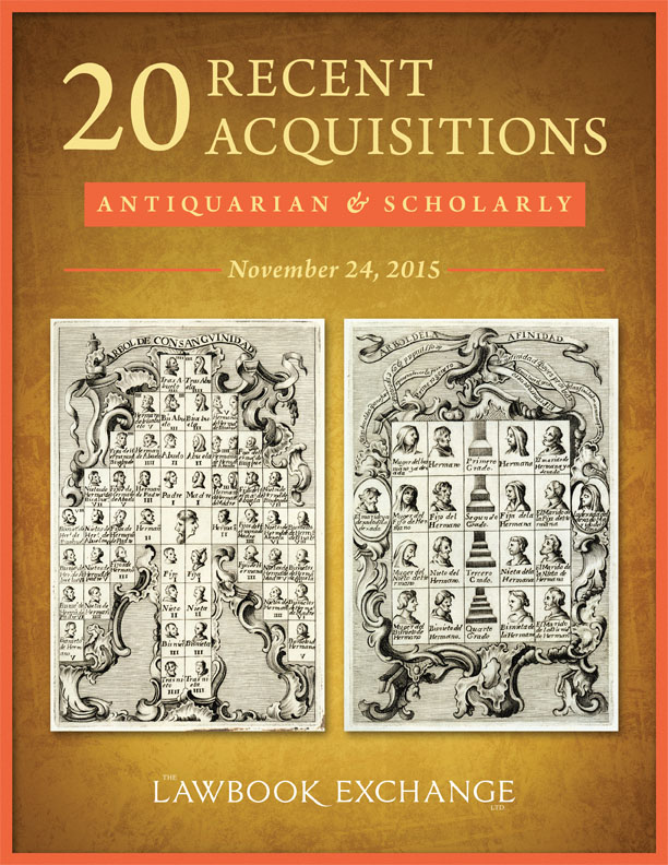 20 Recent Antiquarian and Scholarly Acquisitions