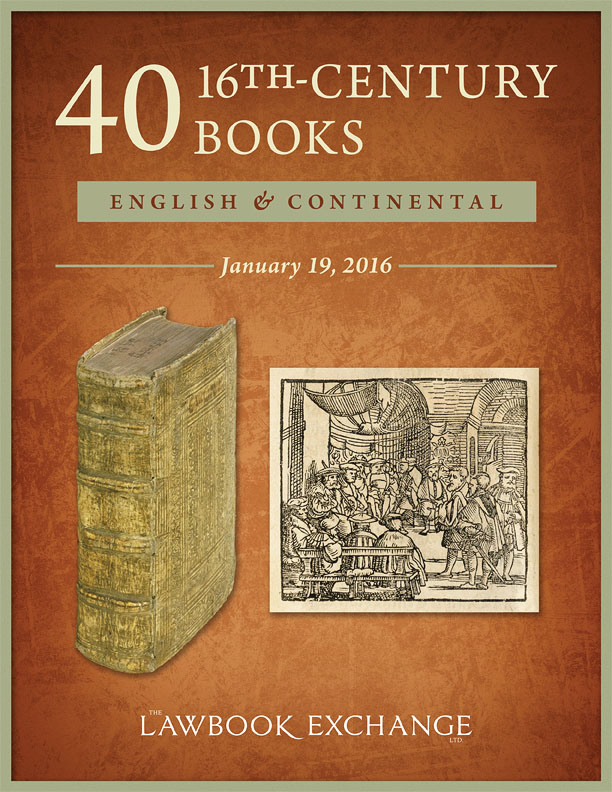 40 Sixteenth-Century Books: English and Continental
