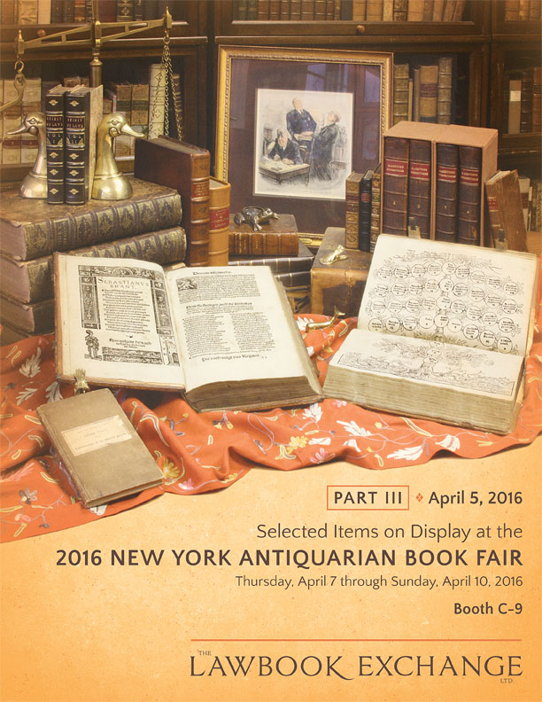 Part III: 50 Pamphlets, Letters and Ephemera on Display at the 2016 New York Antiquarian Book Fair