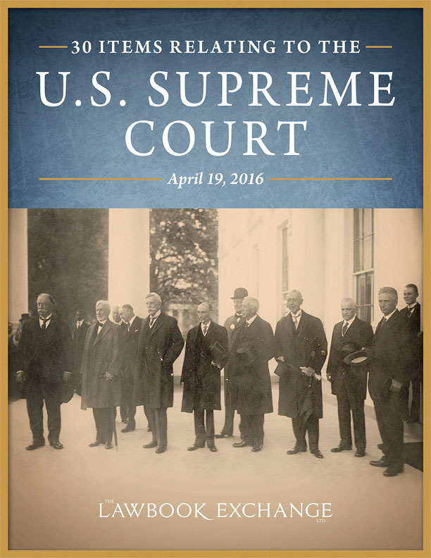 30 Items Relating to the U.S. Supreme Court
