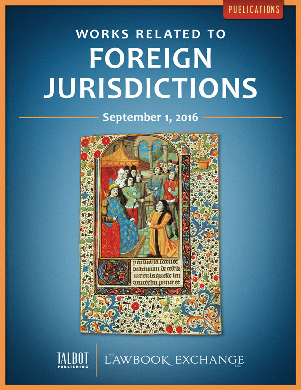Works Related to Foreign Jurisdictions