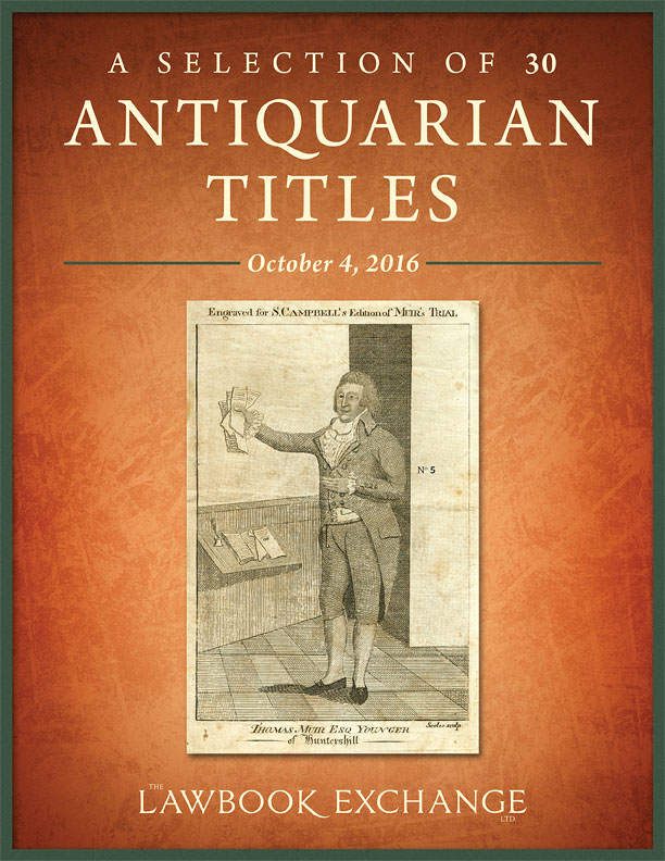 A Selection of 30 Antiquarian Titles
