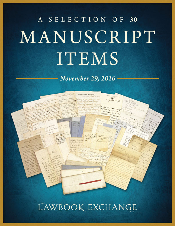 A Selection of 30 Manuscript Items
