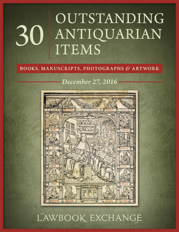 30 Outstanding Antiquarian Items