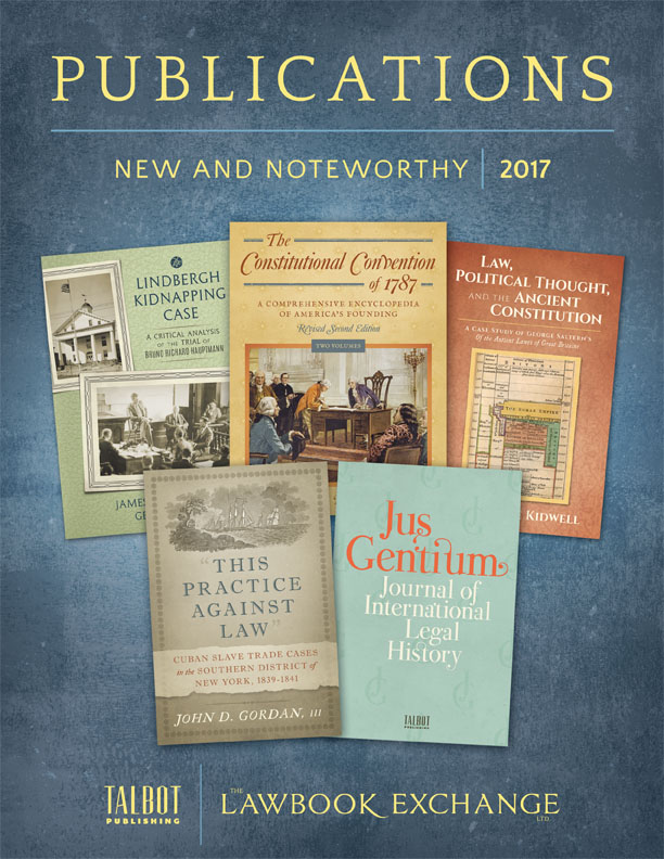 Publications: New and Noteworthy, 2017