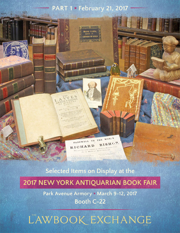 2017 New York Antiquarian Book Fair-Part I