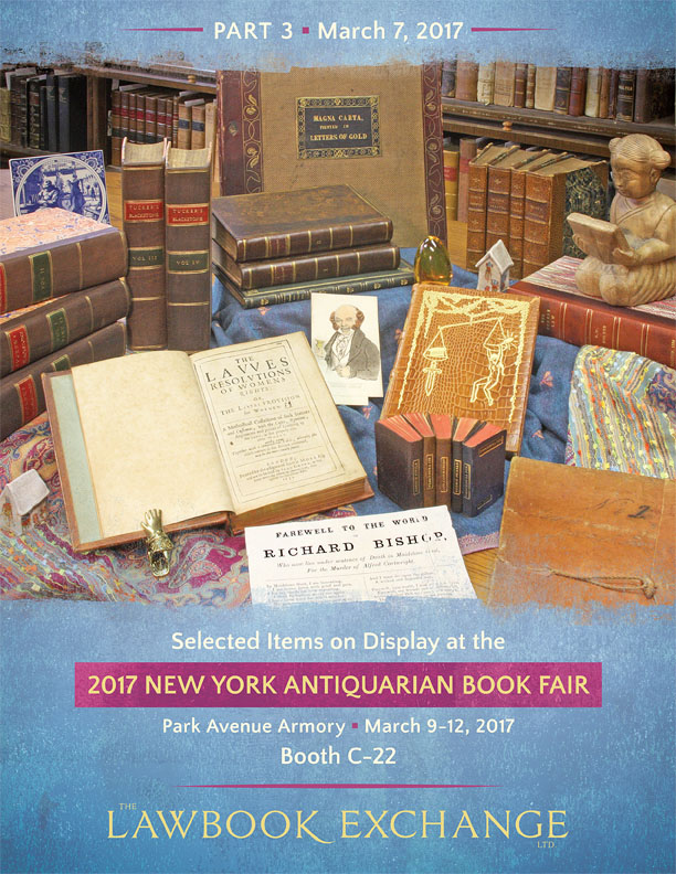 2017 New York Antiquarian Book Fair-Part III