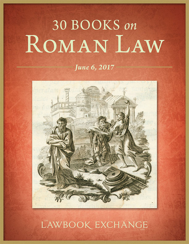 30 Books on Roman Law
