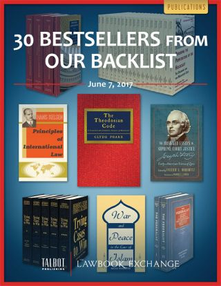 30 Bestsellers from our Backlist