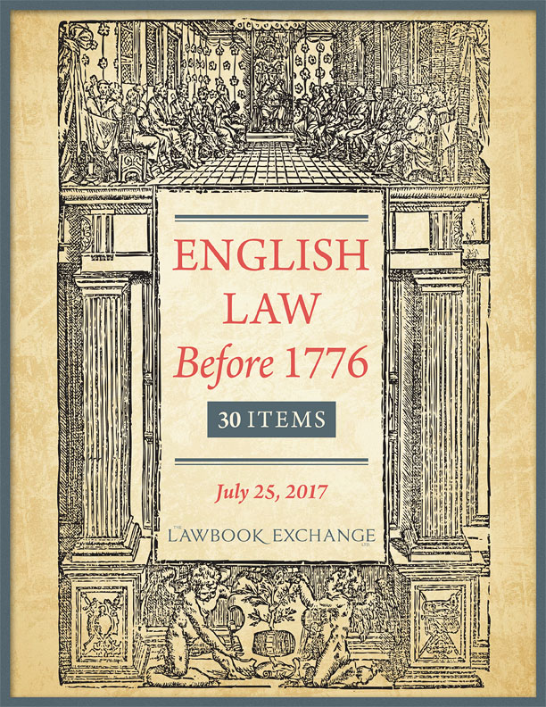 English Law Before 1776: 30 Titles