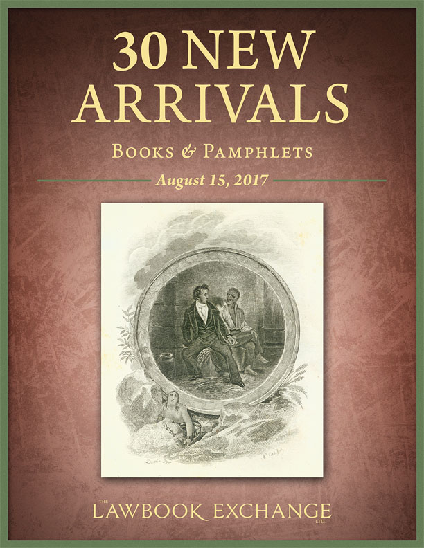 30 New Arrivals: Books and Pamphlets