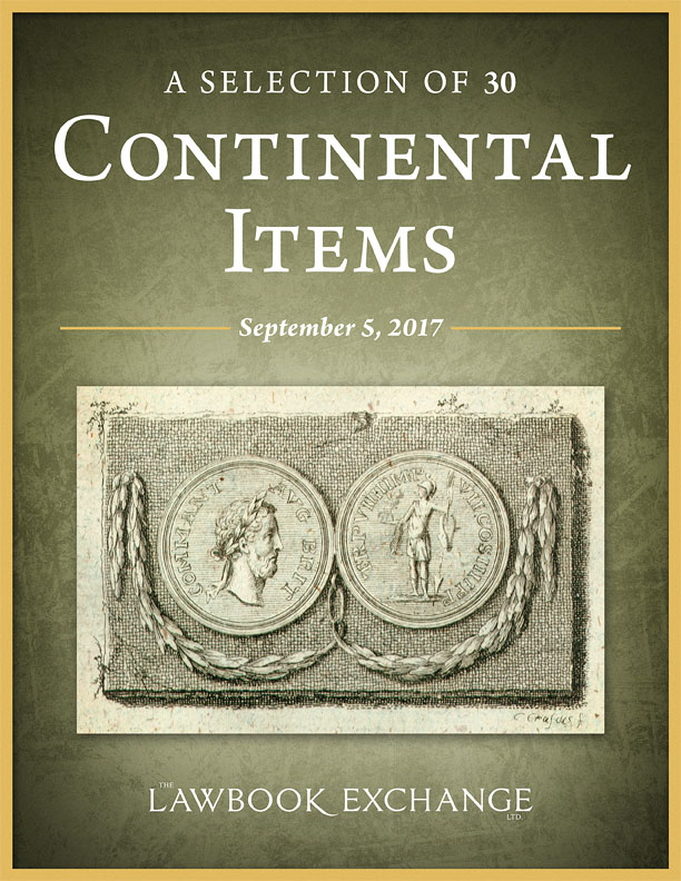 30 Continental Law Titles
