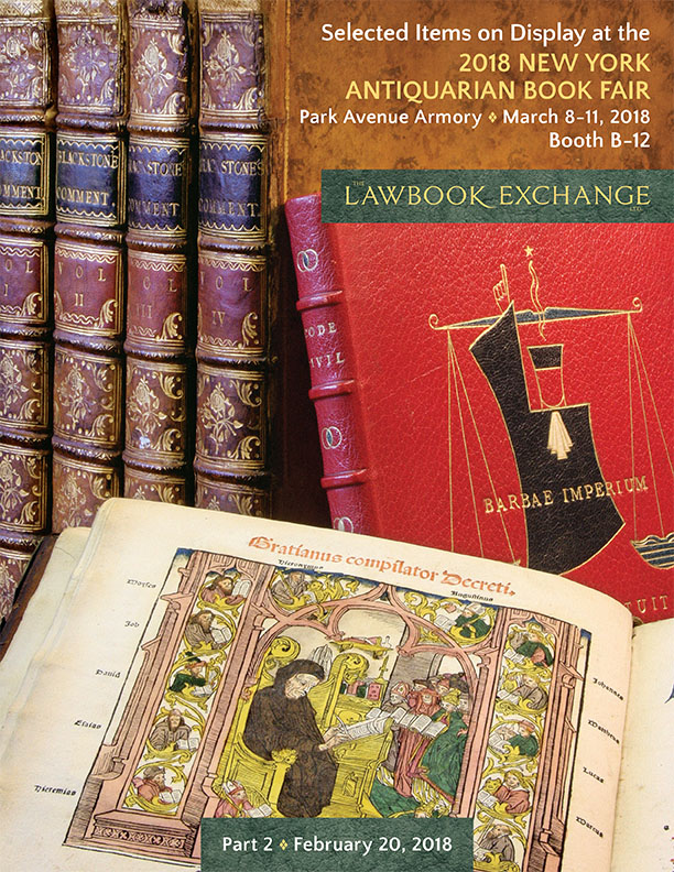 Selected Items on Display at the 2018 NY Antiquarian Book Fair, Part II