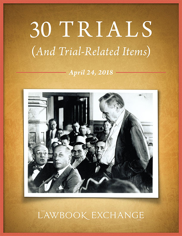 30 Trials (And Trial-Related Items)