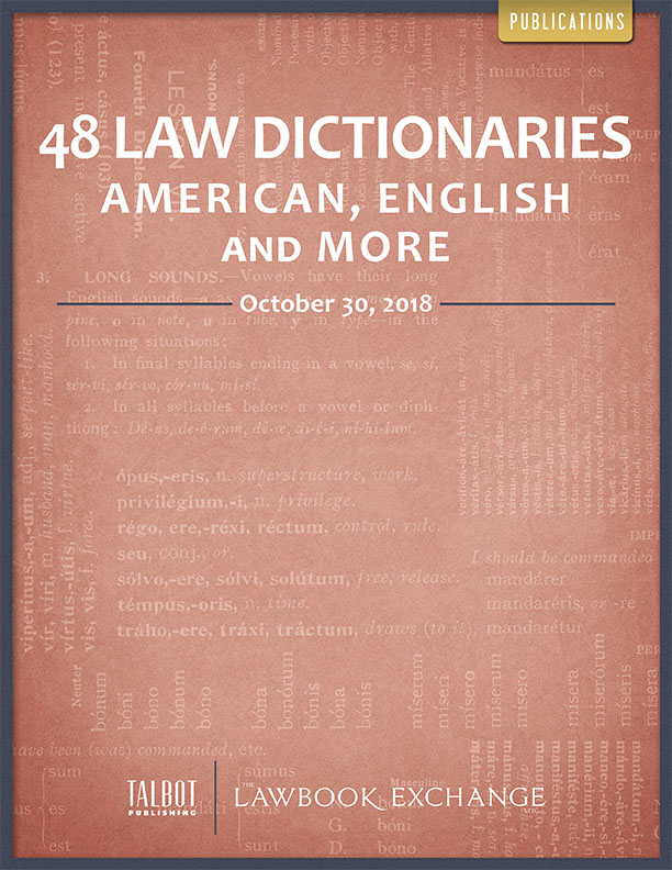 48 Law Dictionaries