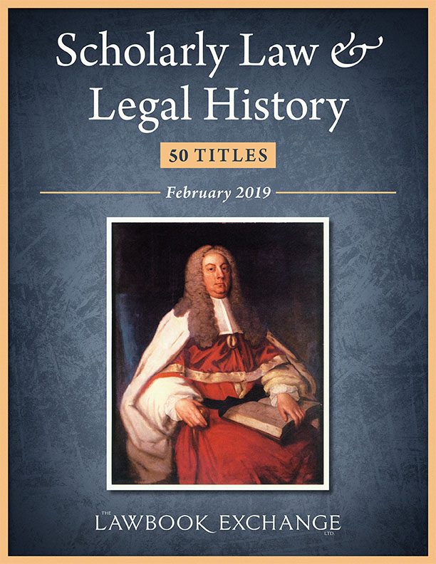 Scholarly Law & Legal History