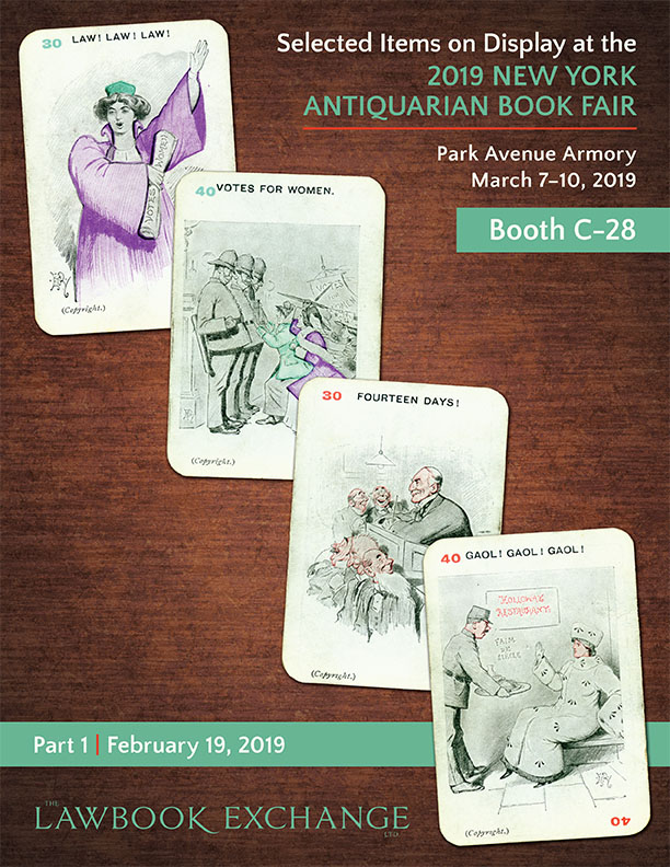 Selected Items on Display at the 2019 NY Antiquarian Book Fair, Part I