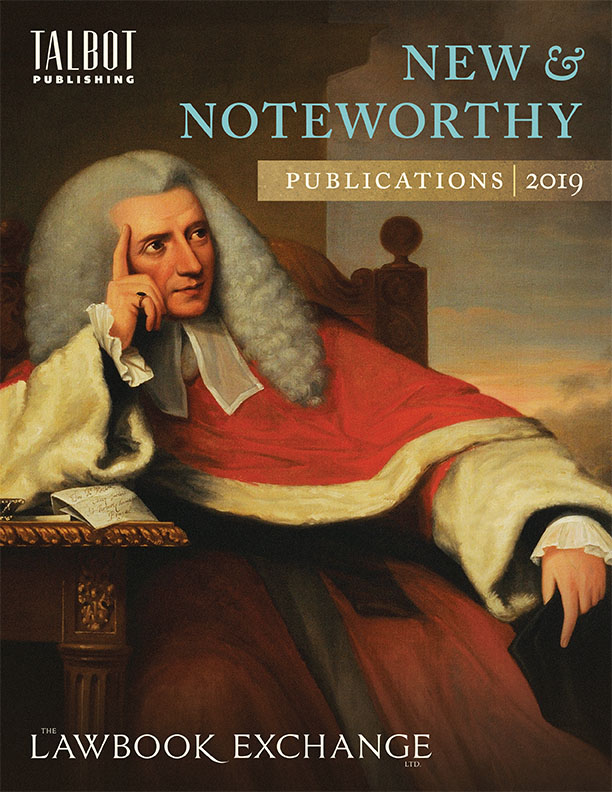New and Noteworthy: Publications 2019