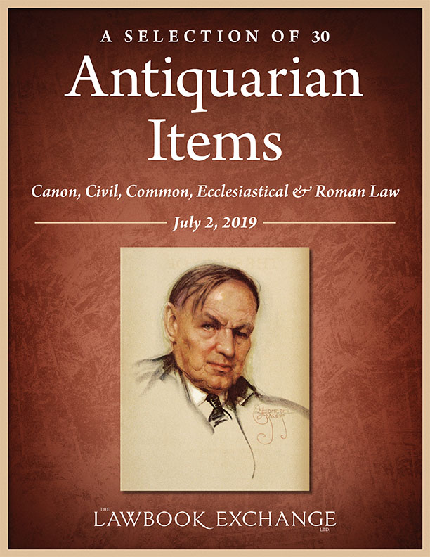 A Selection of 30 Antiquarian Items: Canon, Civil, Common, Ecclesiastical & Roman Law
