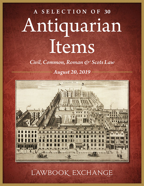 A Selection of 30 Antiquarian Items: Civil, Common, Roman & Scots Law