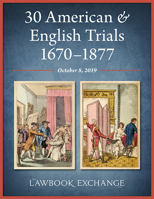 30 American & English Trials, 1670–1877