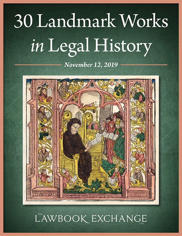 30 Landmark Works in Legal History