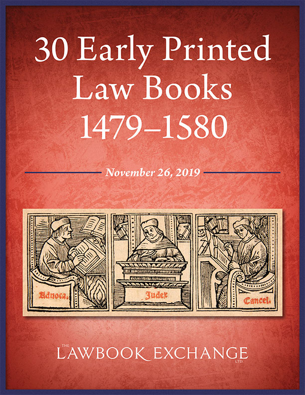 30 Early Printed Law Books, 1479–1580