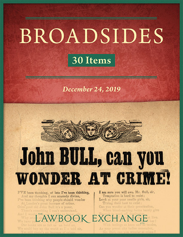 Broadsides: 30 Items