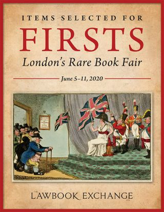 Items Selected for Firsts: London's Rare Book Fair - June 5–11, 2020