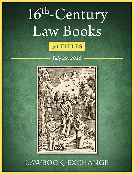 16th-Century Law Books: 30 Titles