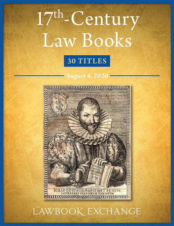 17th-Century Law Books: 30 Titles