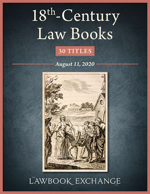 18th-Century Law Books: 30 Titles