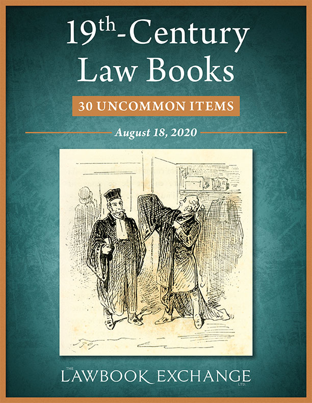 19th-Century Law Books: 30 Uncommon Items
