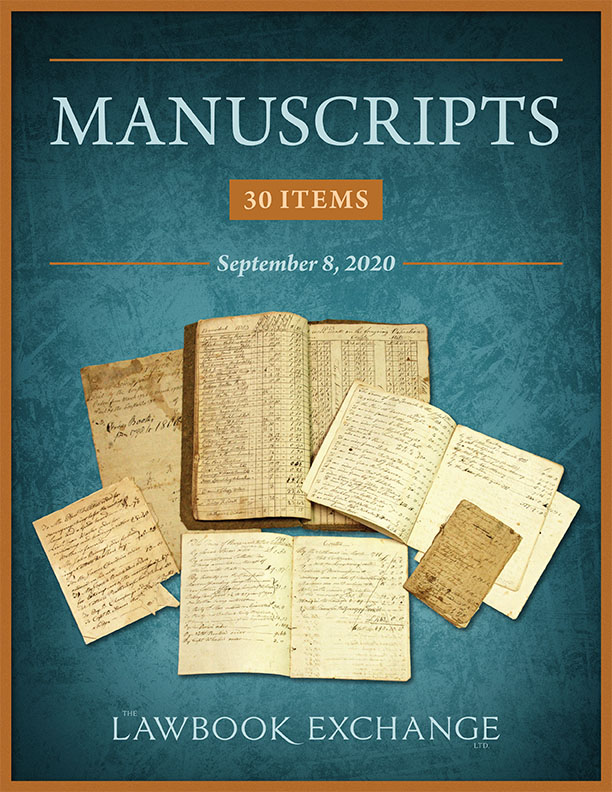 Manuscripts: 30 Items