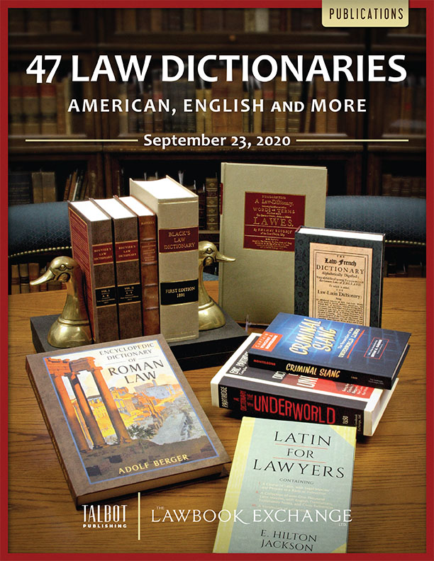 47 Law Dictionaries: American, English and More