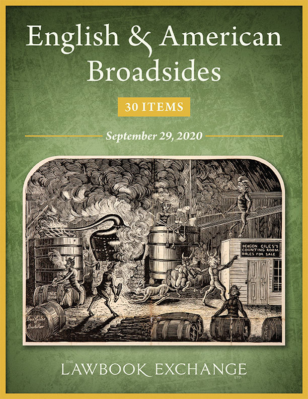 English & American Broadsides: 30 Items