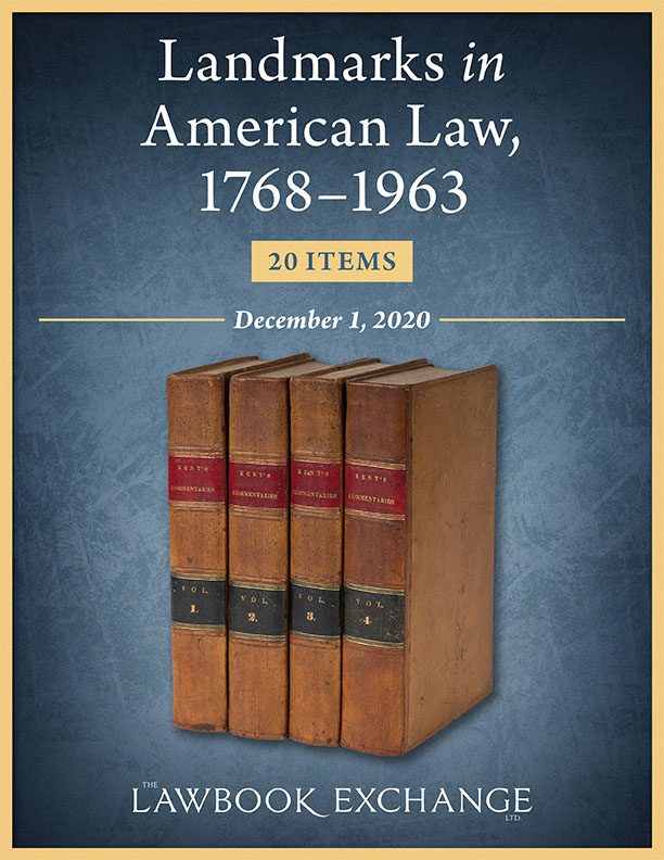 Landmarks in American Law, 1768–1963: 20 Items