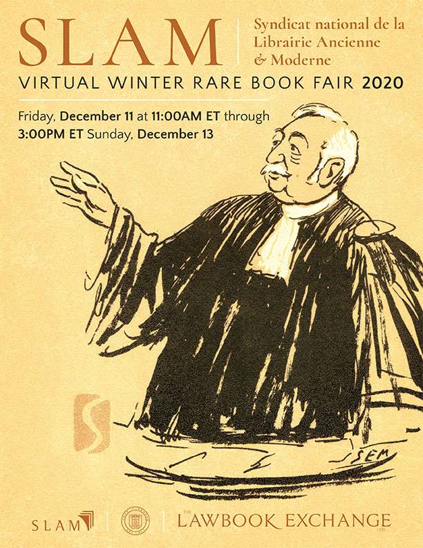SLAM Virtual Winter Rare Book Fair