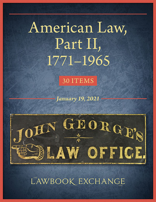American Law, Part II, 1771–1965: 30 Items